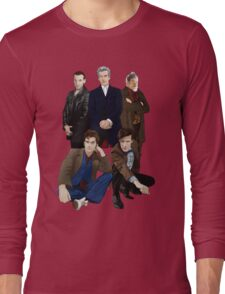 Doctor Who - The Doctors Long Sleeve T-Shirt