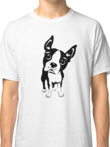 Boston Terrier Dog  Classic T-Shirt