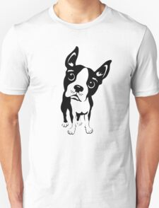 Boston Terrier Dog  Unisex T-Shirt