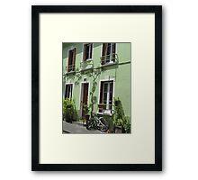 Rue Crémieux, Paris Framed Print