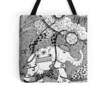 Strength - duco divina doodle Tote Bag