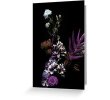 floral faux Greeting Card