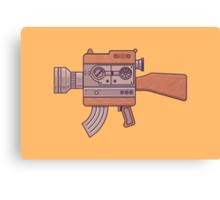 Camera Gun Canvas Print