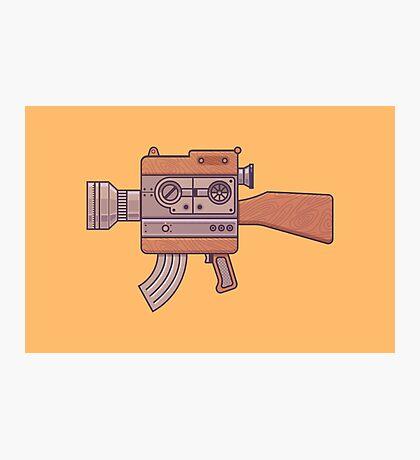 Camera Gun Photographic Print