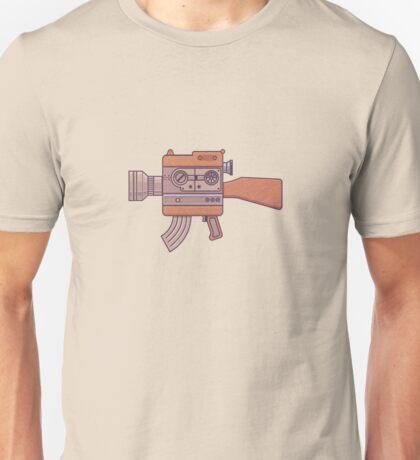 Camera Gun Unisex T-Shirt