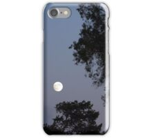 Moon with Trees iPhone Case/Skin