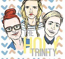 The Holy Trinity by lizzbuma