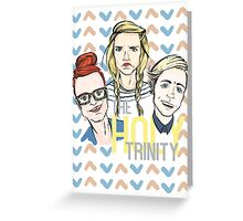 The Holy Trinity Greeting Card