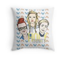 The Holy Trinity Throw Pillow