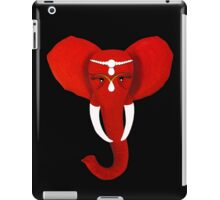 Red Elephant 3 iPad Case/Skin