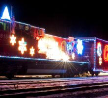 The 2012 Canadian Pacific Holiday Train In North Bend British Columbia Sticker