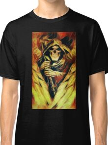 Fiery Winged Reaper Classic T-Shirt