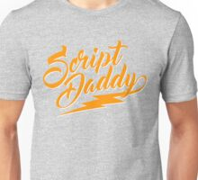 Senior Script Daddy  Unisex T-Shirt