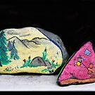 Memories: Mother & Son Painted Stones by Heather Friedman