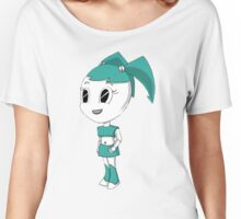 Teenage Robot Chibi Women's Relaxed Fit T-Shirt