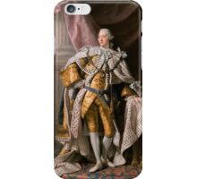 King George III of the United Kingdom iPhone Case/Skin