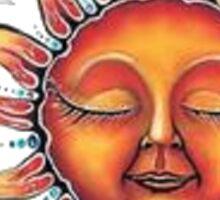 Sun. Sticker