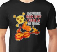 Red Hot Viola Unisex T-Shirt