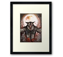 Blood Moon Framed Print
