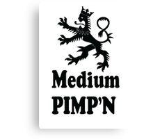 Medium PIMP'n Canvas Print