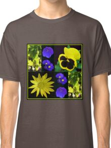 Bright and Beautiful Floral Collage Classic T-Shirt