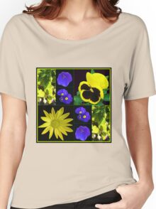 Bright and Beautiful Floral Collage Women's Relaxed Fit T-Shirt