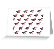 Paper Airplane 35 Greeting Card