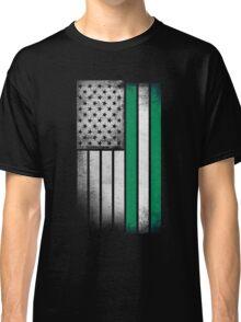 Nigerian American Flag Classic T-Shirt