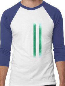 Nigerian American Flag Men's Baseball ¾ T-Shirt