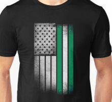Nigerian American Flag Unisex T-Shirt