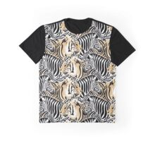 Zebra or Tiger? Who Wore Their Stripes Best? Graphic T-Shirt