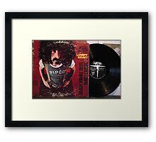 Zappa Lumpy Gravy cover and LP Framed Print