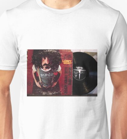 Zappa Lumpy Gravy cover and LP Unisex T-Shirt
