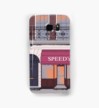 BBC Sherlock- 221b Baker Street Samsung Galaxy Case/Skin