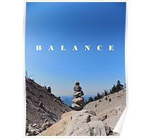 Balance in Life Poster