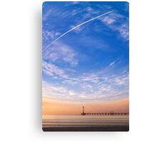 The World Above Canvas Print