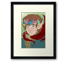 bilbo: actual disney princess Framed Print