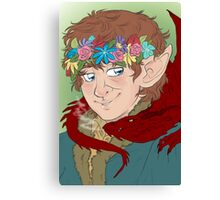 bilbo: actual disney princess Canvas Print