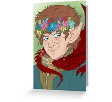 bilbo: actual disney princess Greeting Card