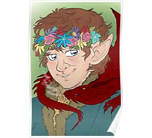 bilbo: actual disney princess Poster