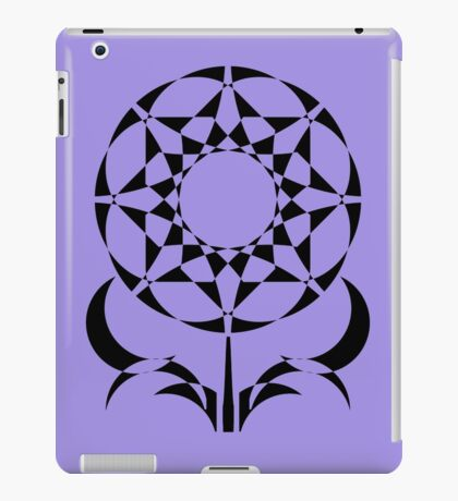Geometric Flowers iPad Case/Skin