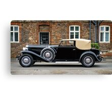Duesenberg Model J Rollston Victoria Coupe 1936 at Hampton Court Canvas Print