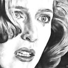 Dana Scully- Pusher (with tear) by MarinaDekker