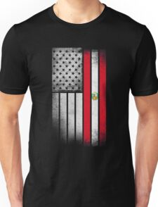 Peruvian American Flag Unisex T-Shirt