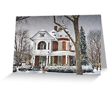 Victorian on 4th Street Greeting Card