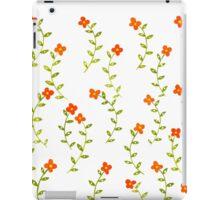 Flowery background iPad Case/Skin
