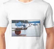 Frangipani By The Sea Unisex T-Shirt
