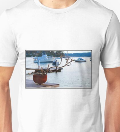 Frangipani By The Sea Unisex T-Shirt