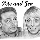 John Thomson and Fay Ripley play Pete and Jen by Margaret Sanderson