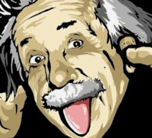 Funny Einstein  Sticker
